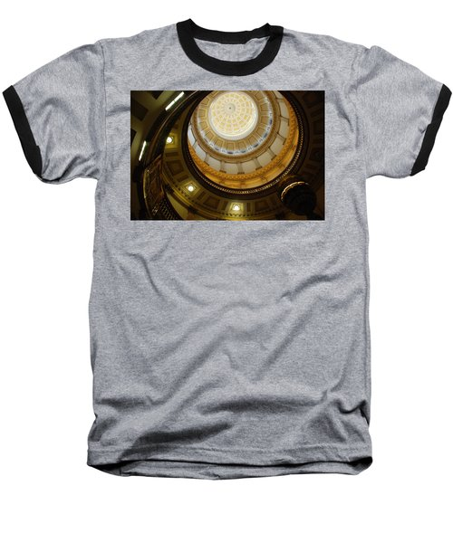 Looking Up The Capitol Dome - Denver Baseball T-Shirt
