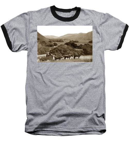 Looking Up The Carmel Valley California Circa 1880 Baseball T-Shirt