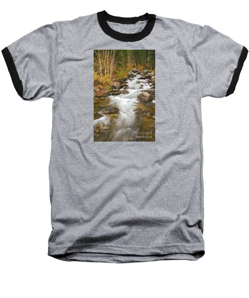 Looking Upstream Baseball T-Shirt