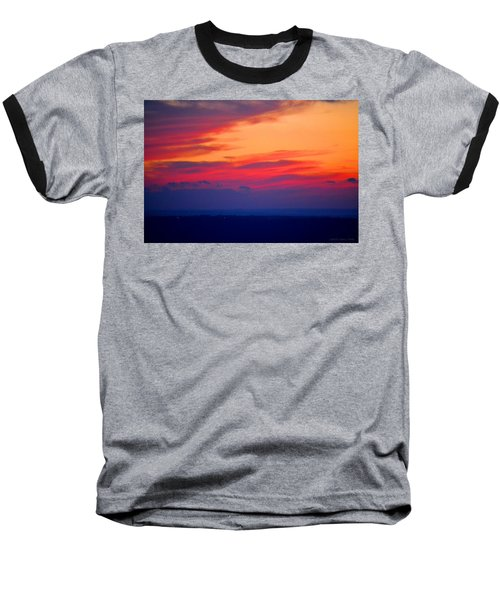 Lookout Mountain Sunset Baseball T-Shirt
