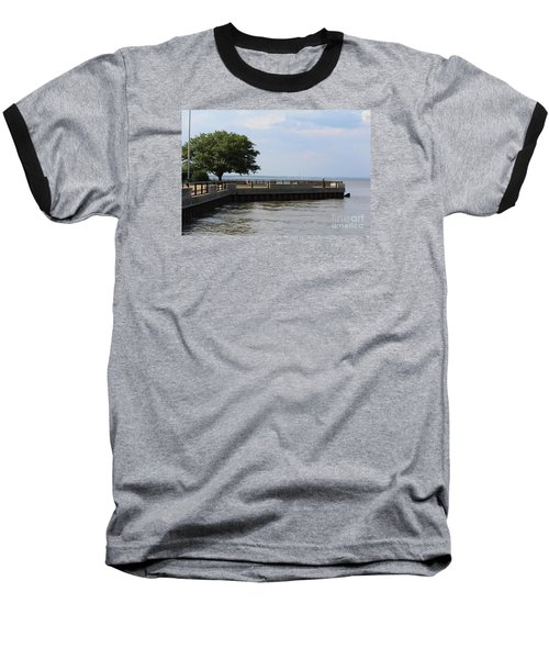 Baseball T-Shirt featuring the photograph Lookout Point by David Jackson