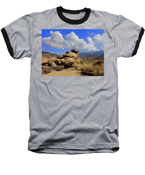 Baseball T-Shirt featuring the photograph Lookout Rock by Michael Pickett