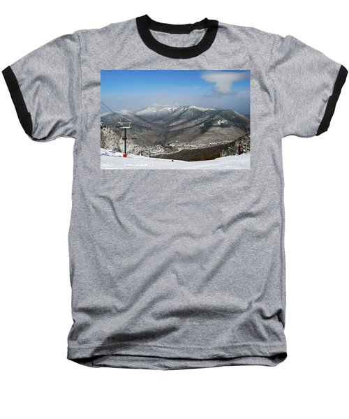 Loon Mountain Ski Resort White Mountains Lincoln Nh Baseball T-Shirt