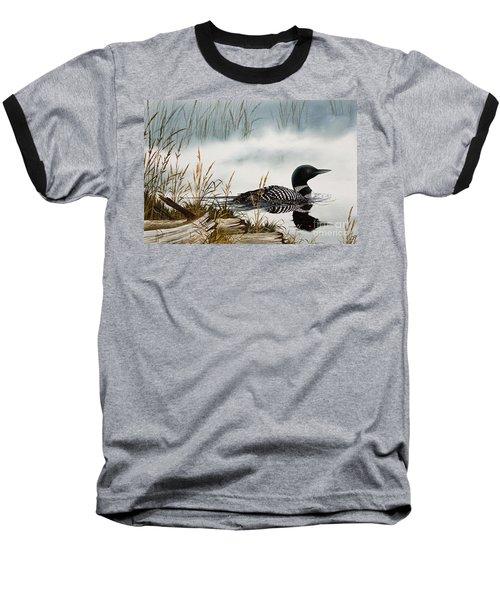 Loons Misty Shore Baseball T-Shirt