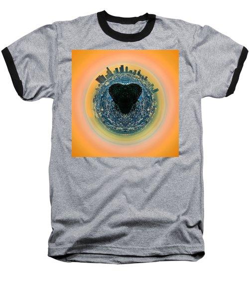 Love La Baseball T-Shirt by Az Jackson