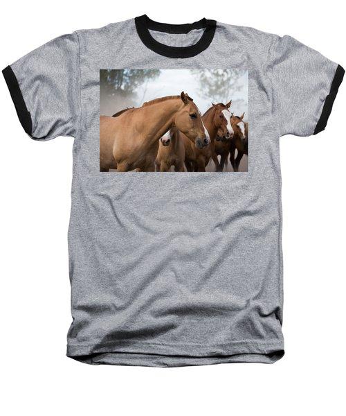 Los Caballos De La Estancia Baseball T-Shirt