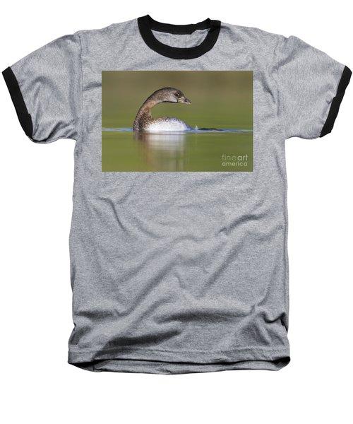 Baseball T-Shirt featuring the photograph Loss-neck Grebe by Bryan Keil