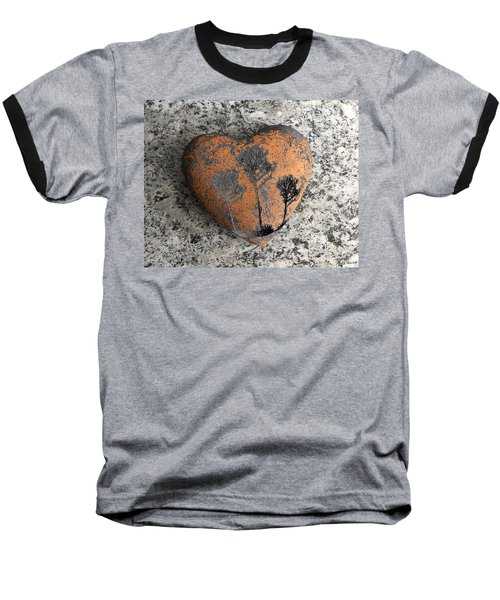 Baseball T-Shirt featuring the photograph Lost Heart by Juergen Weiss