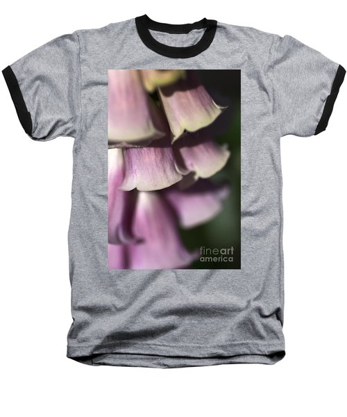 Baseball T-Shirt featuring the photograph Lost In A Foxglove by Joy Watson