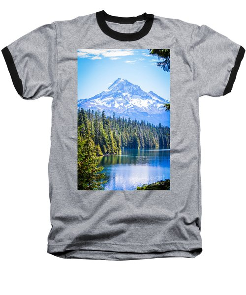 Lost Lake Morning Baseball T-Shirt by Patricia Babbitt