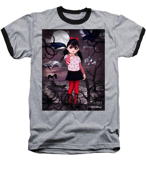 Lost Little Girl Baseball T-Shirt