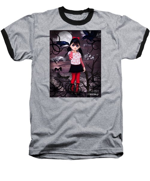 Lost Little Girl Baseball T-Shirt