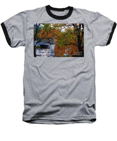 Fall Foliage At Lost Maples State Natural Area  Baseball T-Shirt
