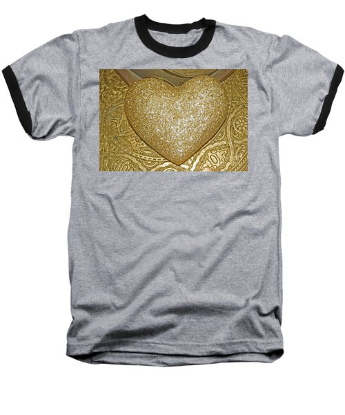 Lost My Golden Heart Baseball T-Shirt