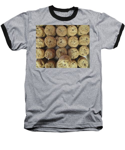 Lotta Cookies Baseball T-Shirt by Kevin Caudill