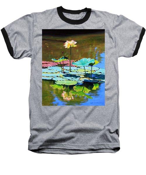 Lotus Above The Lily Pads Baseball T-Shirt