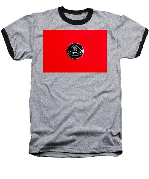 Baseball T-Shirt featuring the photograph Lotus Badge by Aaron Berg