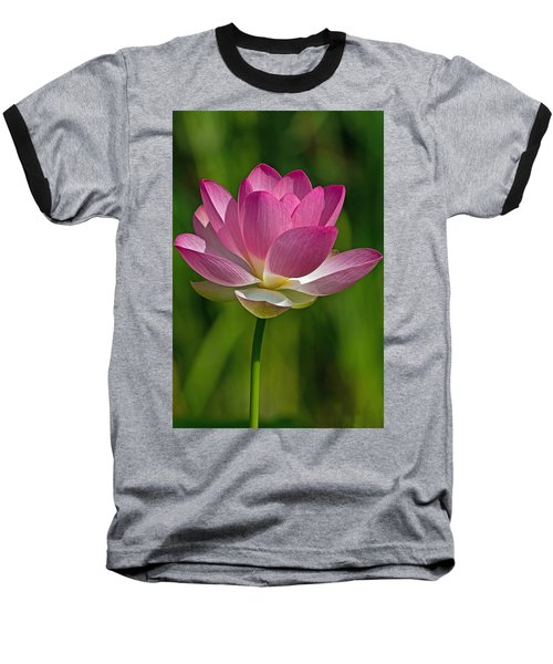 Baseball T-Shirt featuring the photograph Lotus Bloom by Jerry Gammon