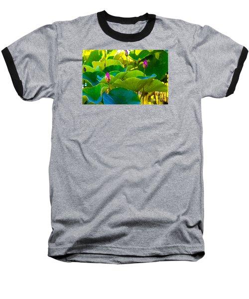 Lotus Garden Baseball T-Shirt