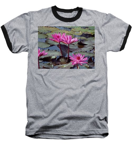 Baseball T-Shirt featuring the photograph Lotus Flower by Sergey Lukashin