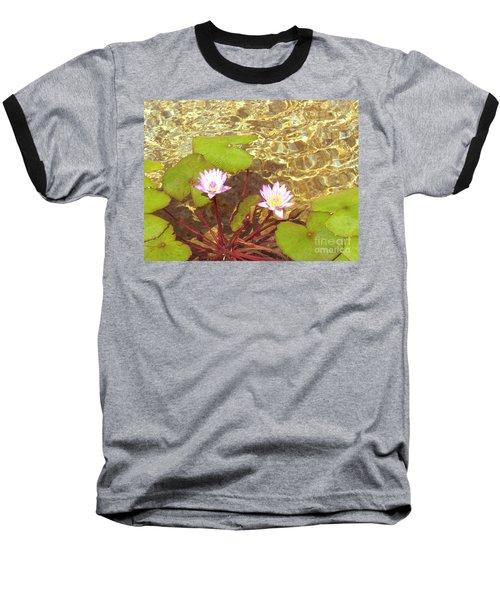 Baseball T-Shirt featuring the photograph Lotus by Mini Arora