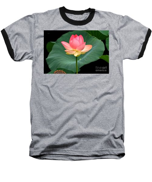 Lotus Of Late August Baseball T-Shirt