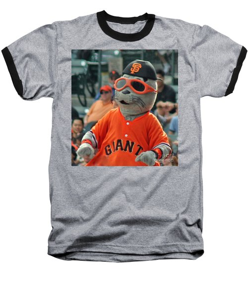 Lou Seal San Francisco Giants Mascot Baseball T-Shirt
