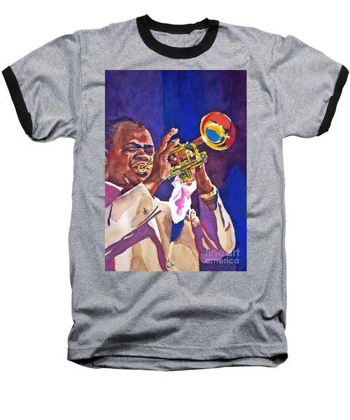 Louis Satchmo Armstrong Baseball T-Shirt