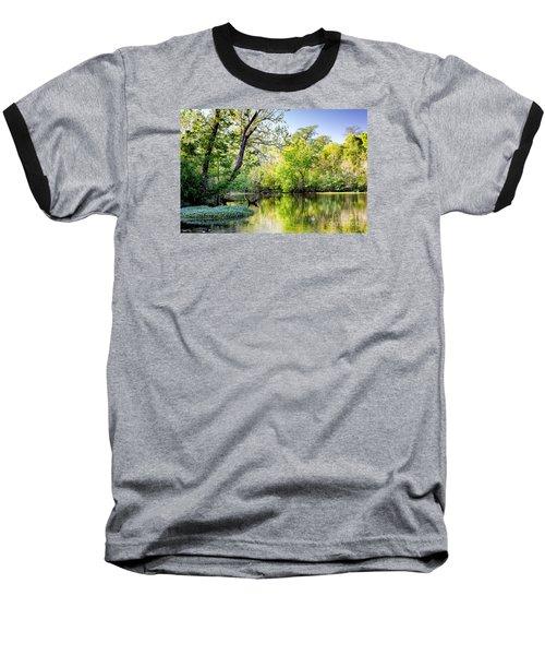 Louisiana Bayou Baseball T-Shirt by Kathleen K Parker