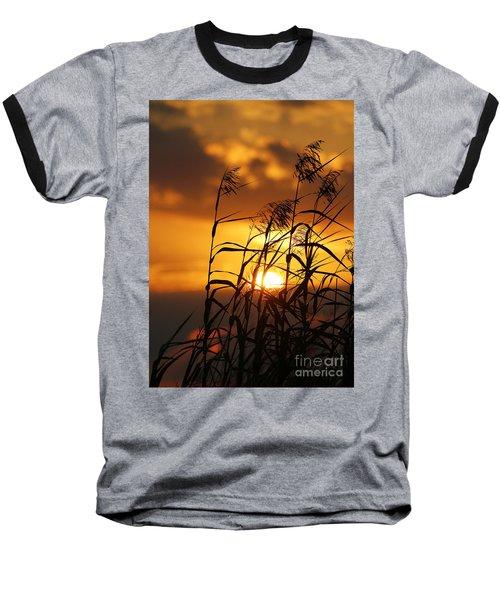 Baseball T-Shirt featuring the photograph Louisiana Marsh Sunset by Luana K Perez