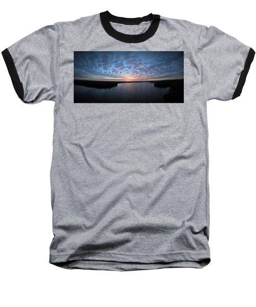 Louisiana Sunrise Baseball T-Shirt