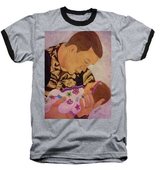Love At First Sight Baseball T-Shirt by Christy Saunders Church