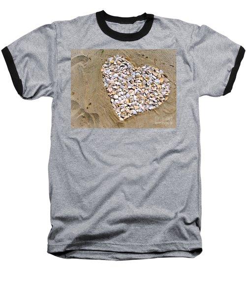 Love At The Jersey Shore Baseball T-Shirt