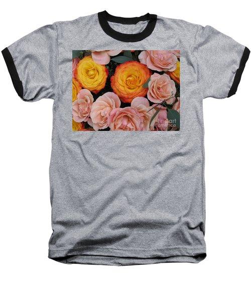 Love Bouquet Baseball T-Shirt by HEVi FineArt