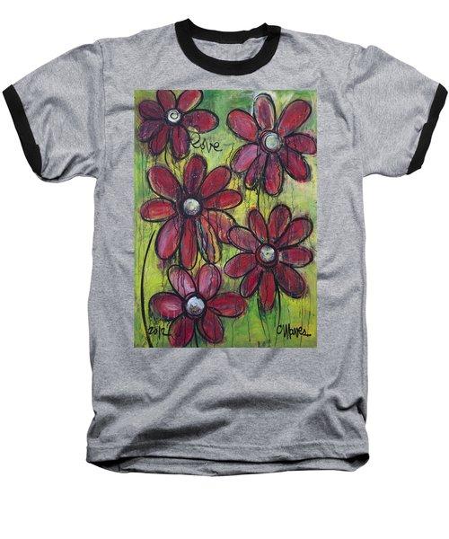 Love For Five Daisies Baseball T-Shirt