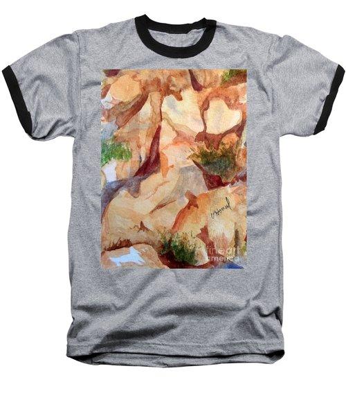 Love In The Rocks Medjugorje 2 Baseball T-Shirt