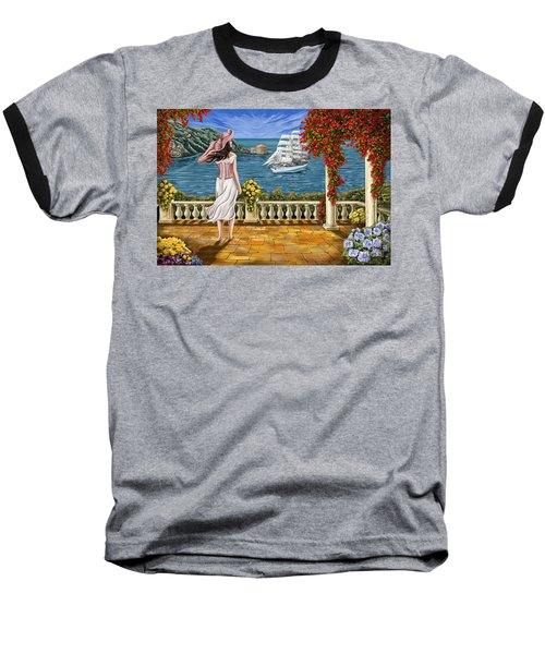 Baseball T-Shirt featuring the painting Love Is Coming Home by Tim Gilliland