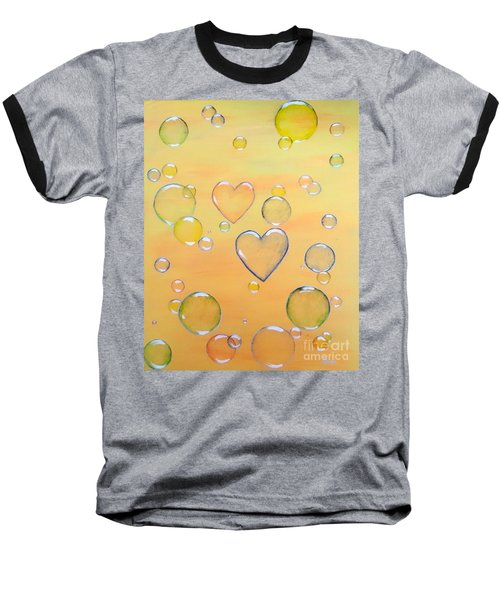 Love Is In The Air Baseball T-Shirt