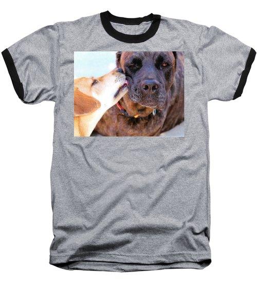 Baseball T-Shirt featuring the photograph Love Licks by Janice Rae Pariza