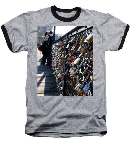 Love Locks Baseball T-Shirt