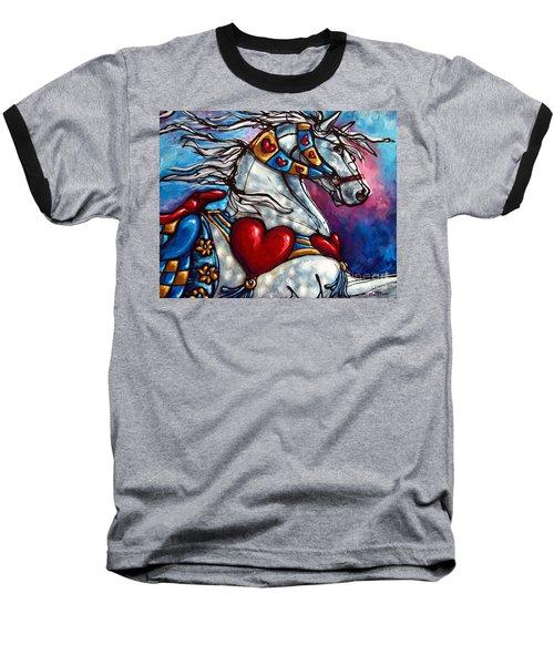 Love Makes The World Go Round Baseball T-Shirt