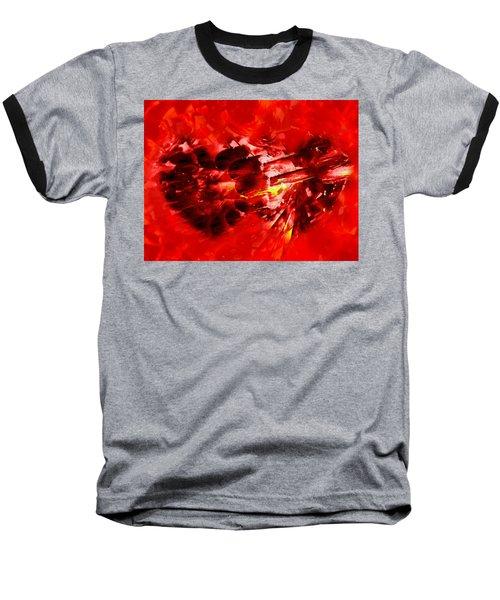 Love Opening Baseball T-Shirt by Kathy Bassett