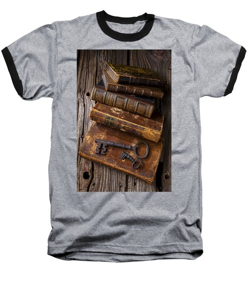 Love Reading Baseball T-Shirt by Garry Gay