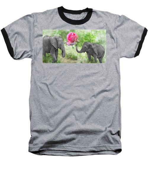 Love-rose Baseball T-Shirt