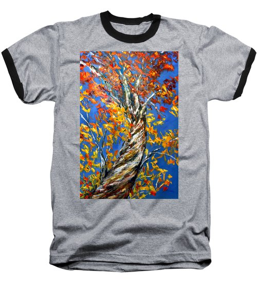 Baseball T-Shirt featuring the painting Love That Reaches by Meaghan Troup