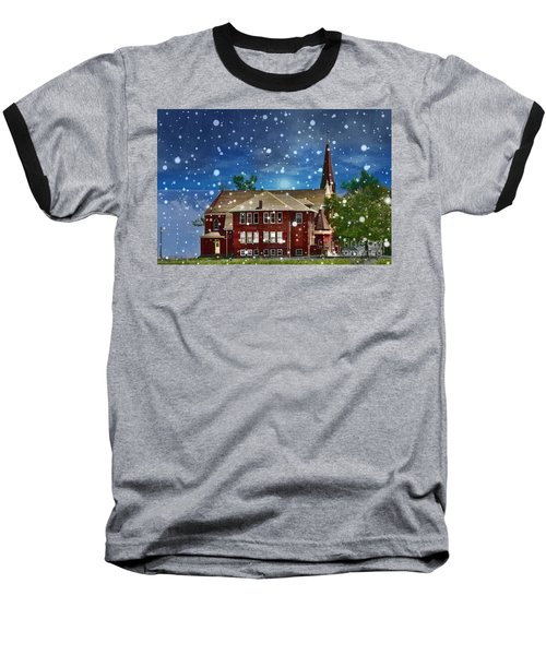 Baseball T-Shirt featuring the photograph Lovely Country Church by Liane Wright