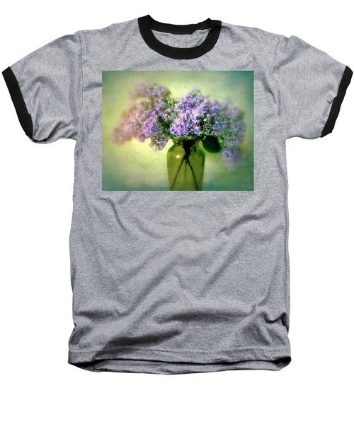 Lovely Lilac  Baseball T-Shirt