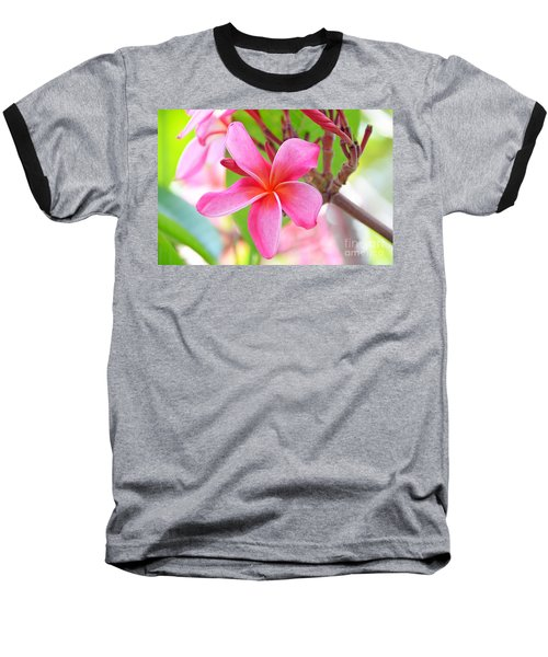 Baseball T-Shirt featuring the photograph Lovely Plumeria by David Lawson