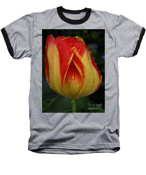 Lovely Tulip Baseball T-Shirt