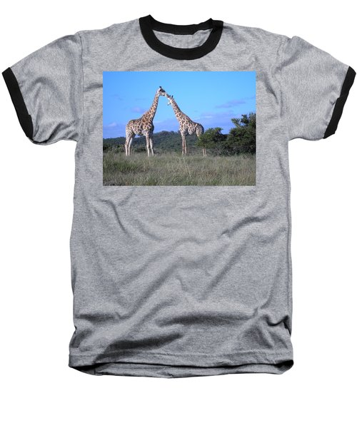 Lovers On Safari Baseball T-Shirt